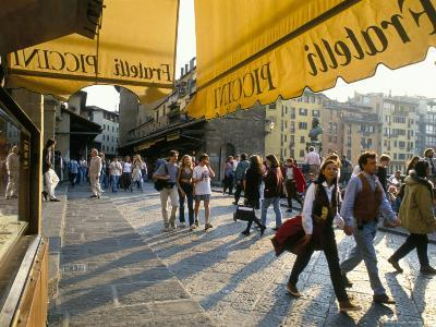 The Ponte Vecchio, Florence, Tuscany, Italy-Michael Newton-Photographic Print