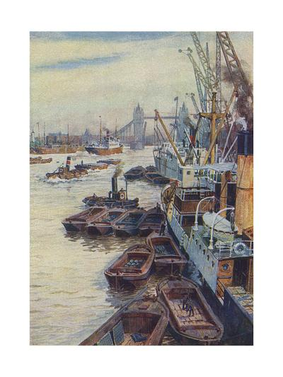 The Pool of London--Giclee Print