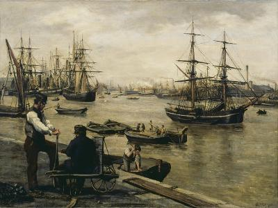 The Pool of London-Matthew White Ridley-Giclee Print