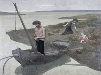 The Poor Fisherman-Pierre Puvis de Chavannes-Giclee Print