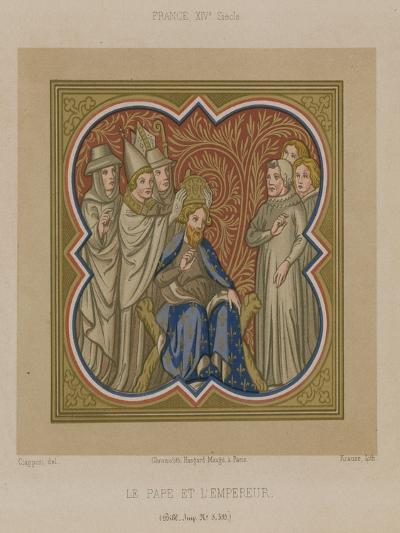 The Pope and the Emperor--Giclee Print