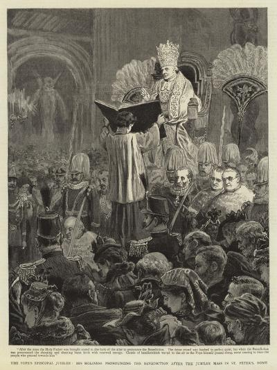 The Pope's Episcopal Jubilee--Giclee Print