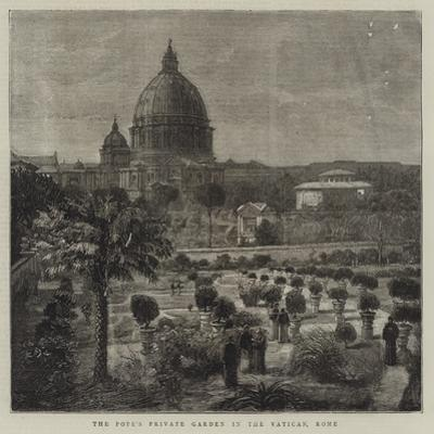 The Pope's Private Garden in the Vatican, Rome