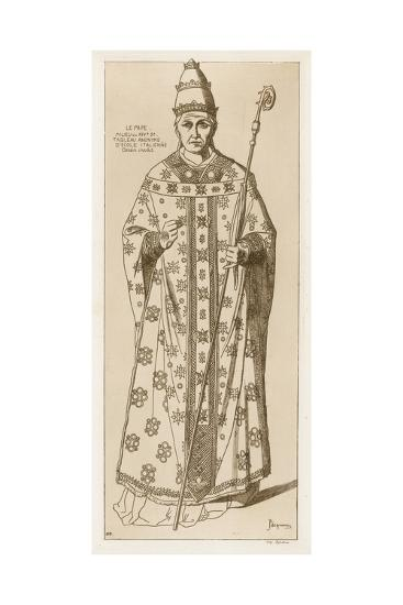 The Pope-Raphael Jacquemin-Giclee Print