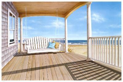 The Porch Swing-Daniel Pollera-Art Print