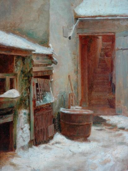 The Porch-Pierre Edouard Frere-Giclee Print
