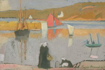 The Port at Saint-Briac, 1887-Emile Bernard-Giclee Print