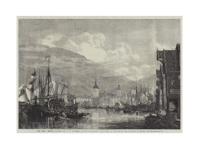 The Port, Bergen, Norway-George Henry Andrews-Giclee Print