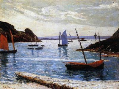The Port, Island of Brehat, Brittany, 1892-Maxime Emile Louis Maufra-Giclee Print