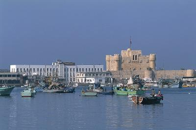 The Port of Alexandria, Egypt--Photographic Print