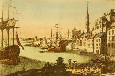 The Port of Boston--Art Print