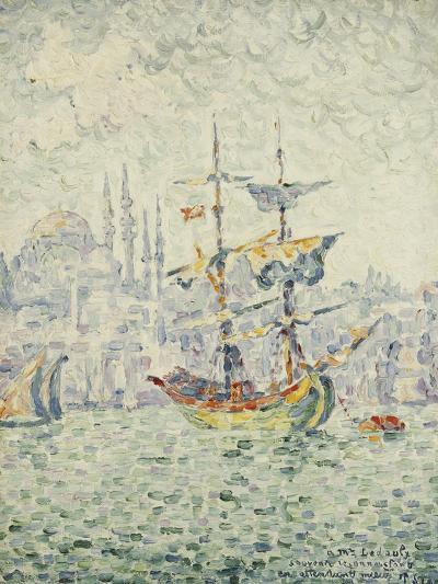 The Port of Constantinople; Le Port de Constantinople, 1907-Paul Signac-Giclee Print