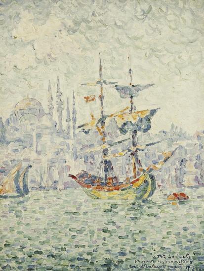 The Port of Constantinople; Le Port de Constantinople, 1907-Paul Signac-Giclee Print
