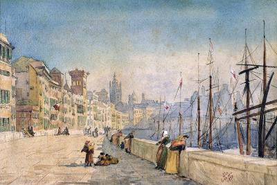 The Port of Genes, 1878-JL Gennato-Giclee Print