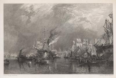 The Port of London-Samuel Bough-Giclee Print