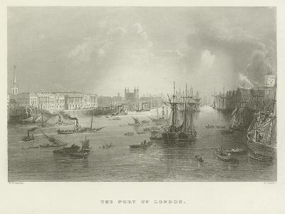 The Port of London--Giclee Print