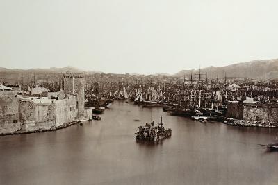 The Port of Marseille, C.1859-Edouard-Denis Baldus-Photographic Print