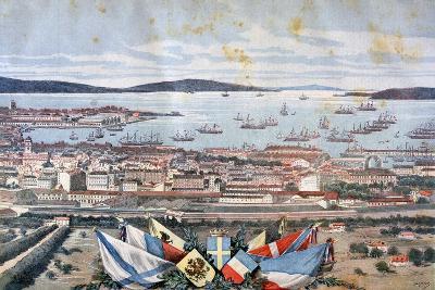 The Port of Toulon, 1893-Henri Meyer-Giclee Print