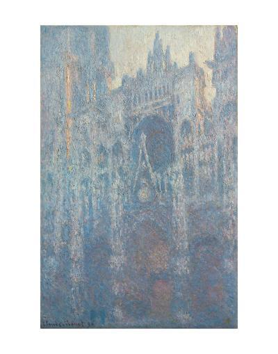 The Portal of Rouen Cathedral in Morning Light, 1894-Claude Monet-Art Print
