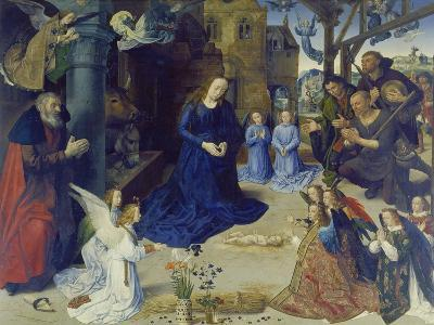 The Portinari Altarpiece. Central Panel: the Adoration of the Shepherds-Hugo van der Goes-Giclee Print