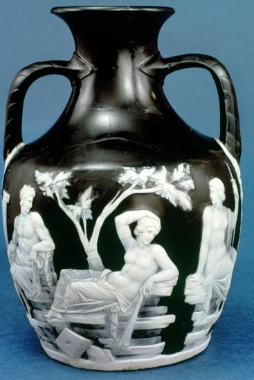 The Portland Vase, c5-25 AD. Artist: Unknown-Unknown-Giclee Print