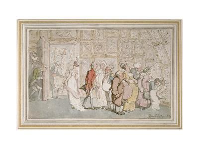 The Portrait Painter's Ante-Room-Thomas Rowlandson-Giclee Print