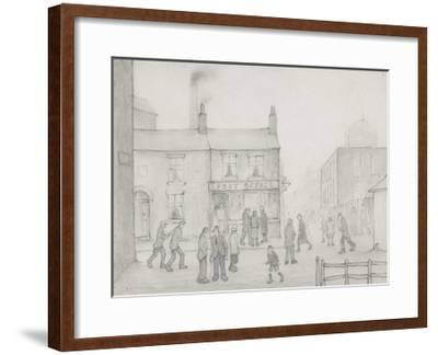 The Post Office, 1926-Laurence Stephen Lowry-Framed Premium Giclee Print