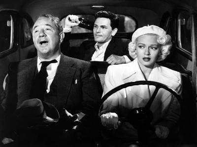 The Postman Always Rings Twice, Cecil Kellaway, John Garfield, Lana Turner, 1946--Photo