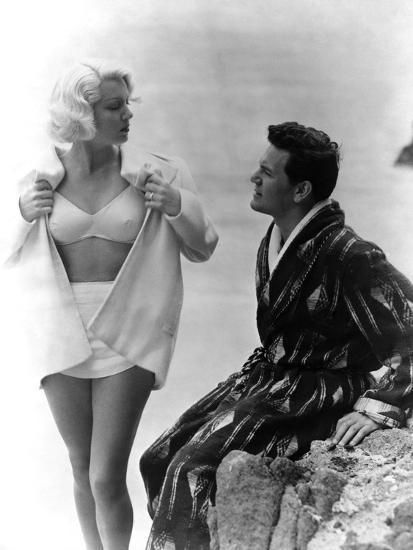 The Postman Always Rings Twice, Lana Turner, John Garfield, 1946--Photo
