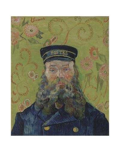 The Postman (Joseph-Etienne Roulin), 1889-Vincent van Gogh-Art Print