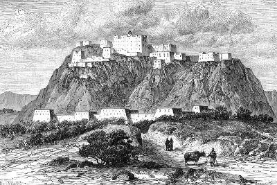 The Potala Palace in Lhasa, Tibet, in the 17th Century--Giclee Print