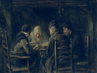 The Potato Eaters, 1902-Jozef Israels-Giclee Print