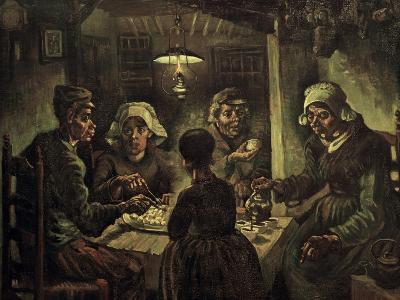 The Potato Eaters-Vincent van Gogh-Giclee Print