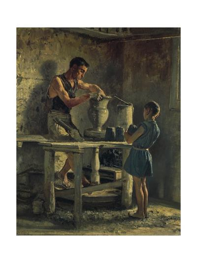 The Potters, 1873-Filippo Palizzi-Giclee Print