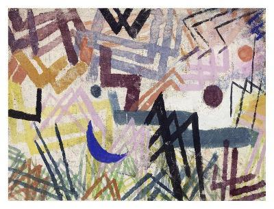 The Power of Play in a Lech Landscape-Paul Klee-Giclee Print