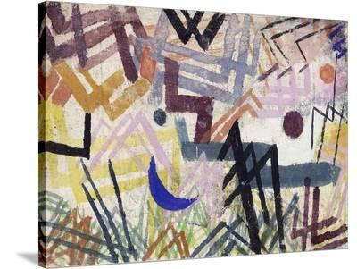 The Power of Play in a Lech Landscape-Paul Klee-Stretched Canvas Print