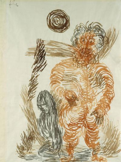 The Power of the Giant; Gewalt Den Riesen-Paul Klee-Giclee Print