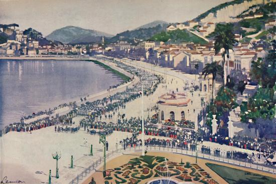 'The Praia da Lapa and Praca da Gloria', 1914-Unknown-Giclee Print