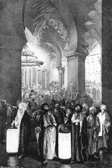 The Prayer During One Night of Ramadan, 1881-Wilhelm Gentz-Giclee Print