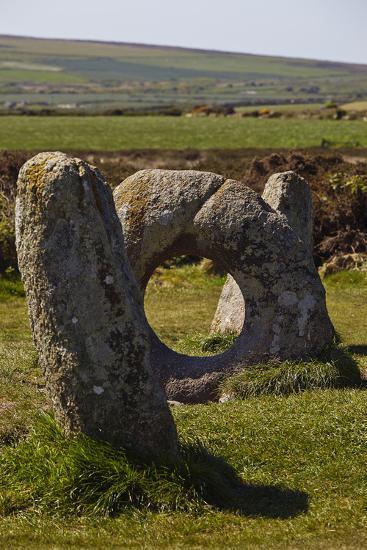 The Prehistoric Men-An-Tol, Near Penzance, Cornwall, Great Britain-Nigel Hicks-Photographic Print