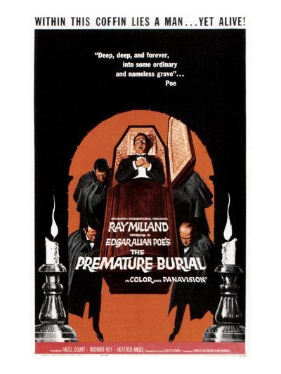 The Premature Burial, 1962--Photo