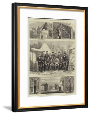 The Preparations for Observing the Transit of Venus-Joseph Nash-Framed Giclee Print