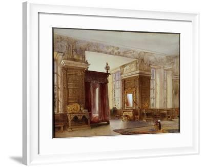 The Presence Chamber at Hardwick, 1858-William Henry Lake Price-Framed Giclee Print