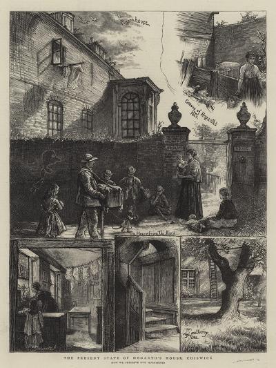The Present State of the Hogarth's House, Chiswick-William Bazett Murray-Giclee Print