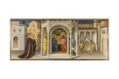 The Presentation in the Temple-Gentile da Fabriano-Giclee Print