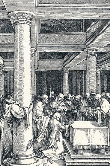 The Presentation of Christ in the Temple, 1506-Albrecht D?rer-Giclee Print