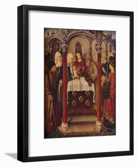 'The Presentation of Christ in the Temple: An altar-piece,' c1434-Jacques Daret-Framed Giclee Print