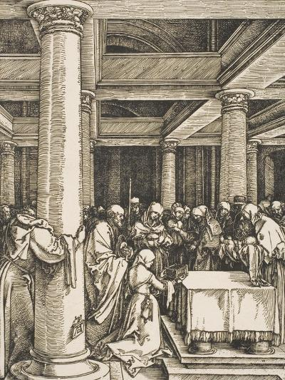 The Presentation of Christ in the Temple-Albrecht D?rer-Giclee Print