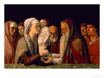 The Presentation of Jesus in the Temple-Giovanni Bellini-Giclee Print