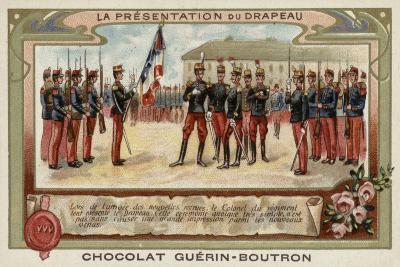 The Presentation of the Flag--Giclee Print